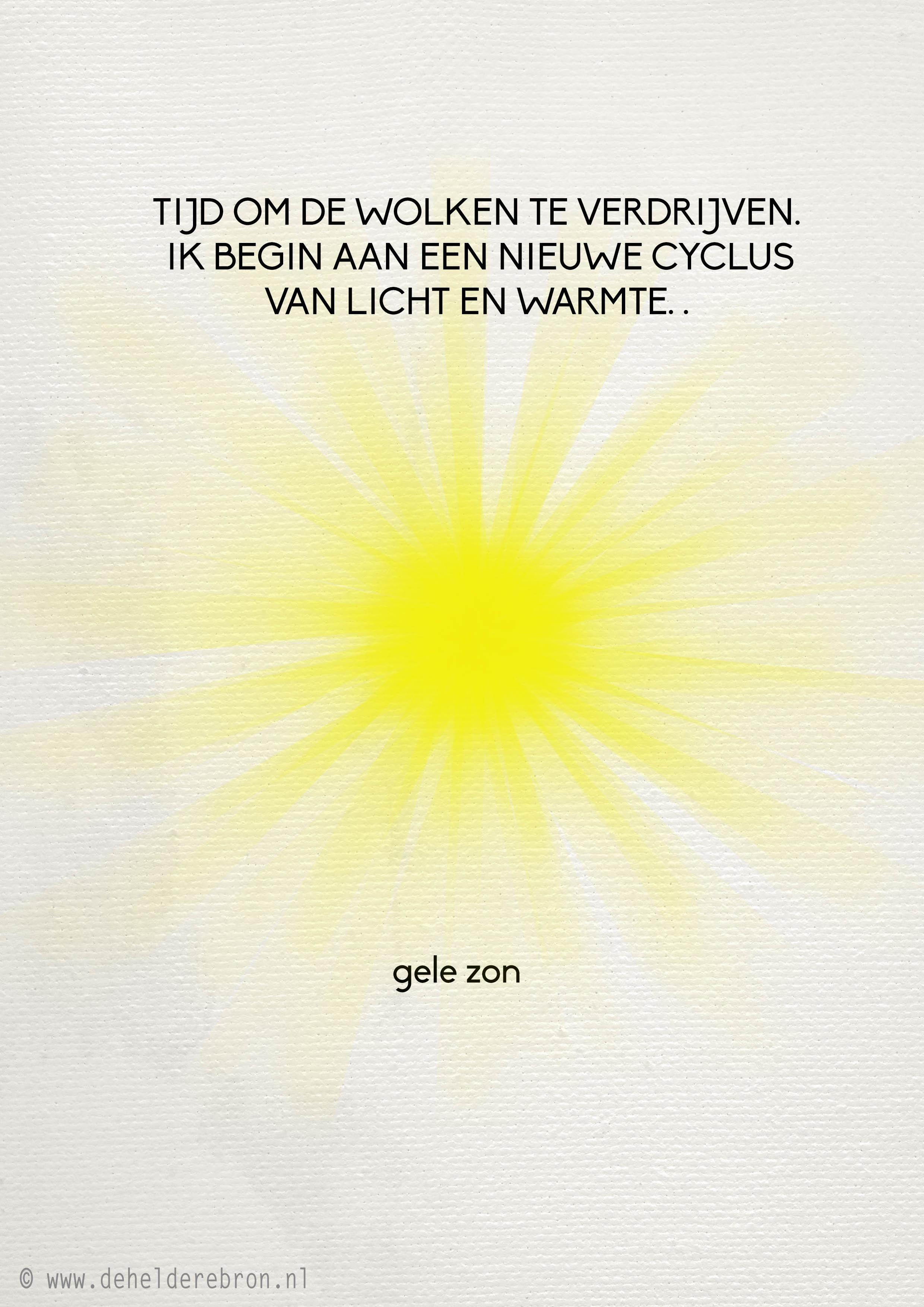Gele zon pagina 2 de heldere bron - Doek voor de zon ...