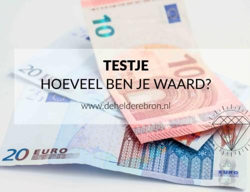 Test – hoeveel ben je waard?