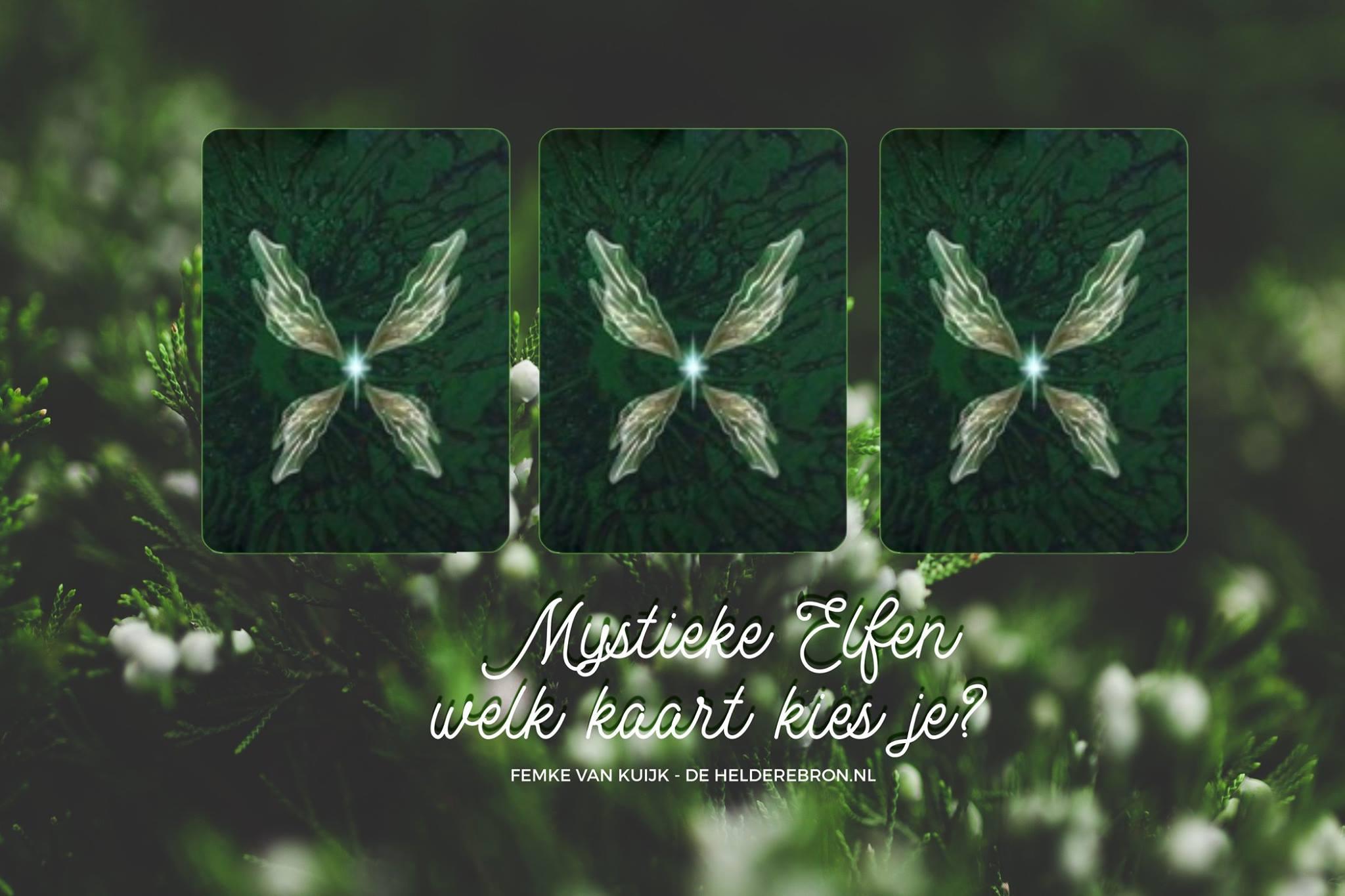 Boodschap van de Mystieke Elfen 19 decemeber